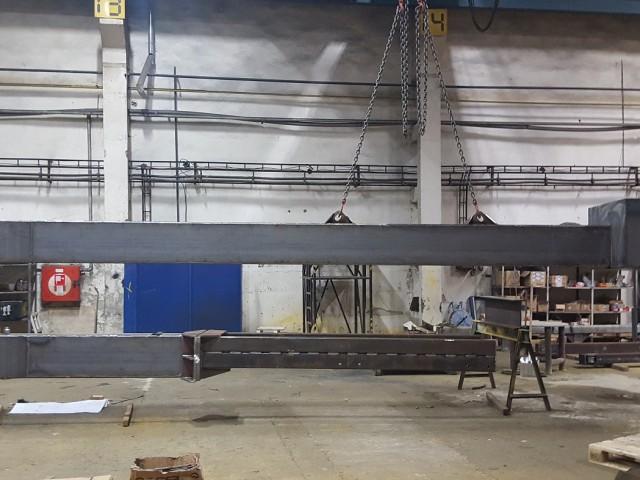 C-traverza v procese výroby
