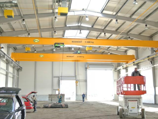 Industrial Cranes, Load Test