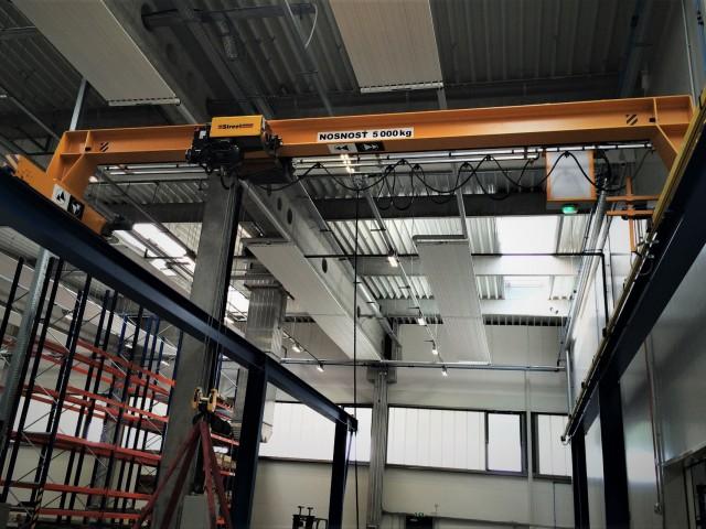 Bridge Crane, 5t, Load Test