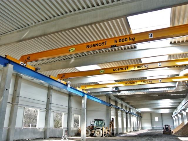 Single-Girder Bridge Cranes