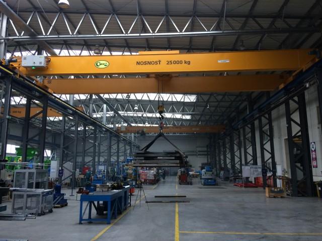 Crane 25t, Load Test