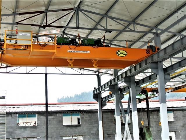 Overhead Crane 25t+25t, Outdoor