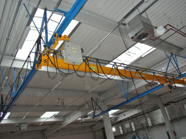 Underslung Bridge Crane