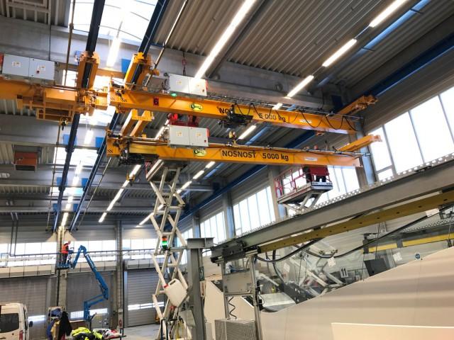 Underslung Cranes Installation, 5t