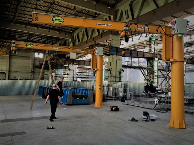 Slewing Jib Cranes, 500 kg
