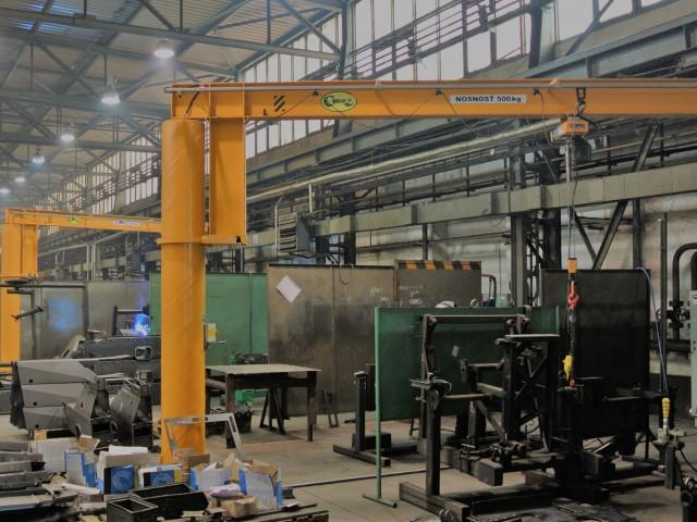 Jib Pillar Cranes, 500kg
