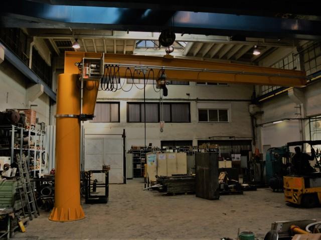 Slewing Crane, Liftket Hoist