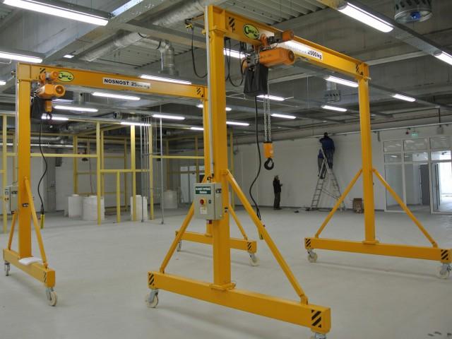 Mobile Gantry Cranes