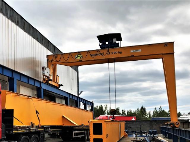 Portal Crane, 12,5t + Railway