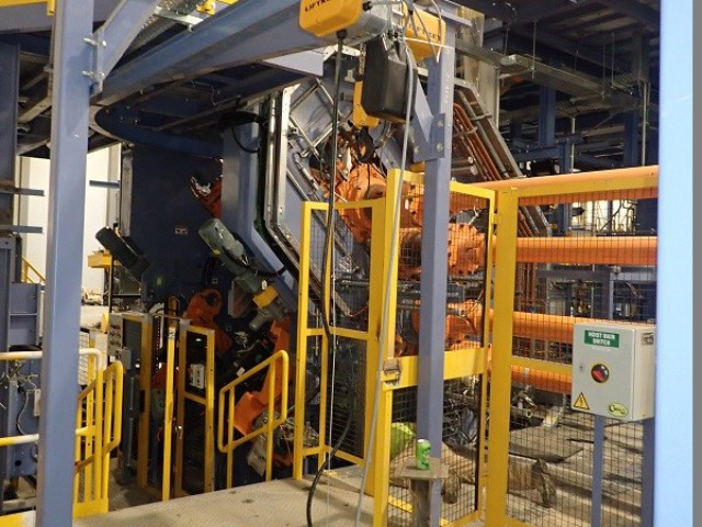 Monorail Crane, Liftket Hoist, Installation in the USA