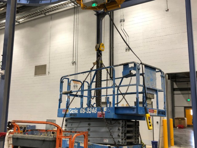 Monorail Crane, Load Test in the USA