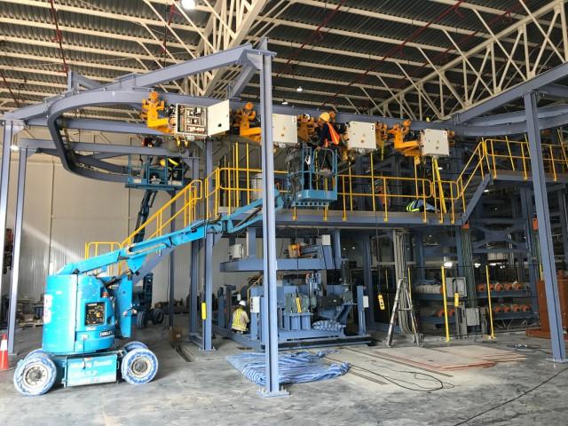 Monorail Crane Installation in Thailand