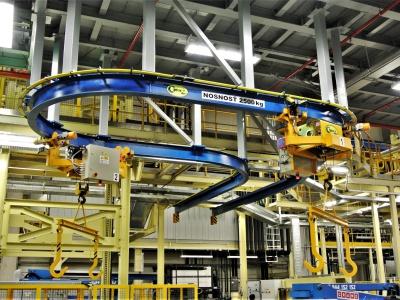 Heavy Duty Monorail Cranes