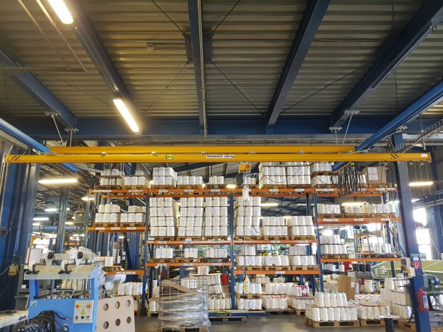 Light Underhung Crane, 320kg