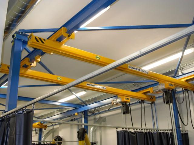 Underslung Cranes 250 kg+Railway