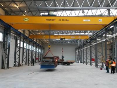 Overhead Cranes 40T 12,5T