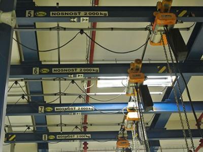Monorail Cranes 2T