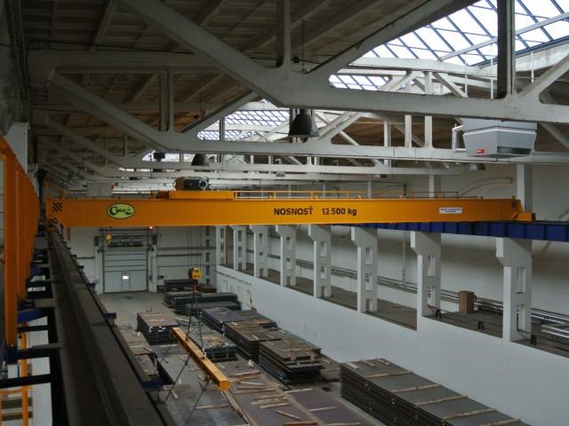 Mostový jeřáb 12,5t