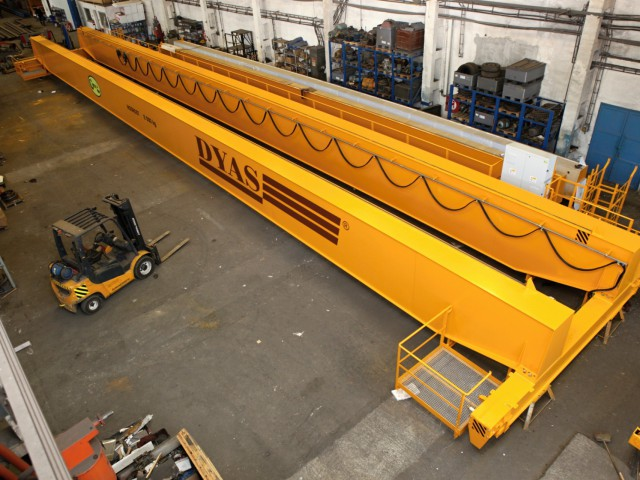 Crane in the Production Process