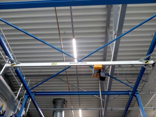 Installed Electric Chain Hoist LIFTKET