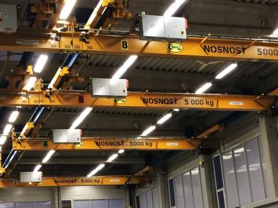 Underslung Bridge Cranes 5T
