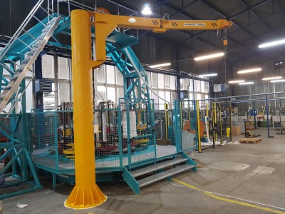 Slewing Jib Crane with Joint 500KG
