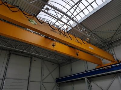 Overhead Cranes 12,5+12,5T, 8T
