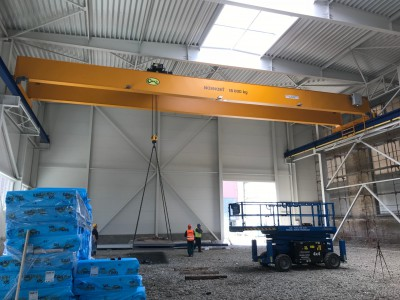 Overhead Cranes 16T and 8T