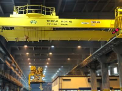 Casting Overhead Crane 20T/8T