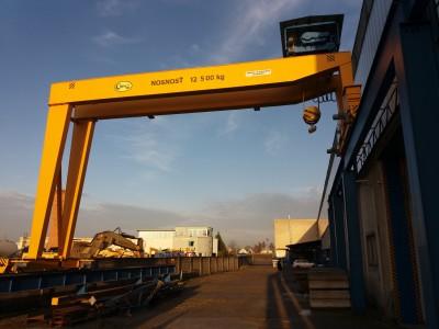 Semi-Portal Crane 12,5T