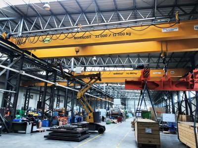 Overhead Crane 32T/12,5T